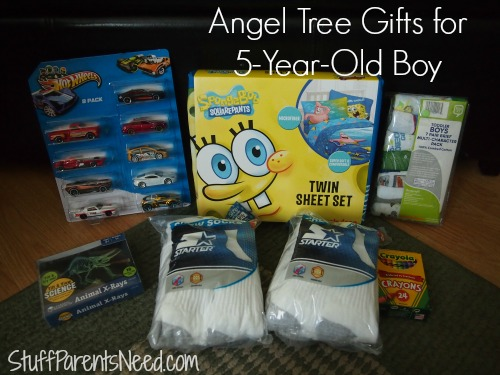 giving tuesday angel tree for 5 year old boy
