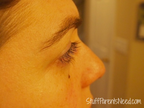 xlash eyelash serum after 4