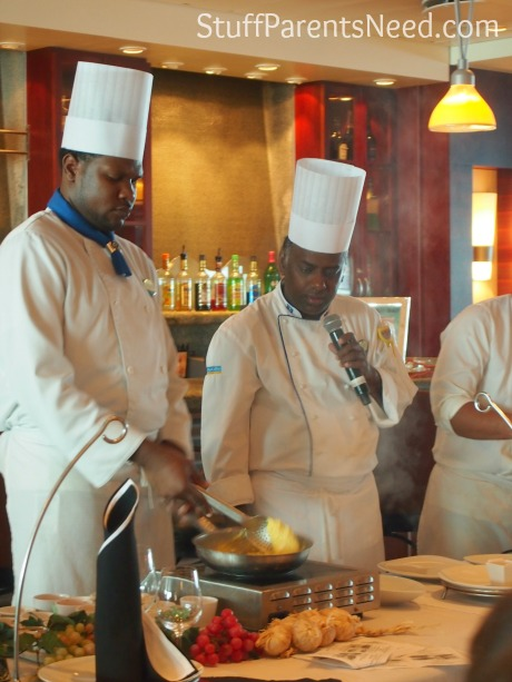 royal caribbean freedom of the seas cooking demonstration