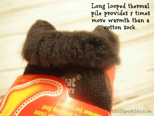 inside of heat holders warm thermal socks