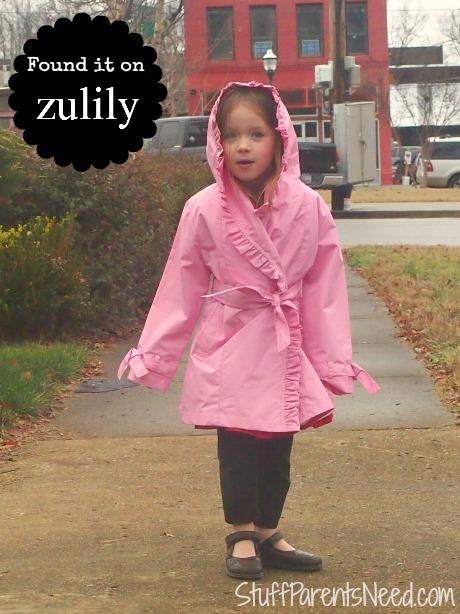 zulily rain coat