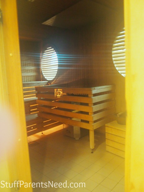 royal caribbean freedom of the seas sauna