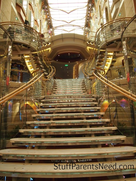 royal caribbean freedom of the seas interior staircase