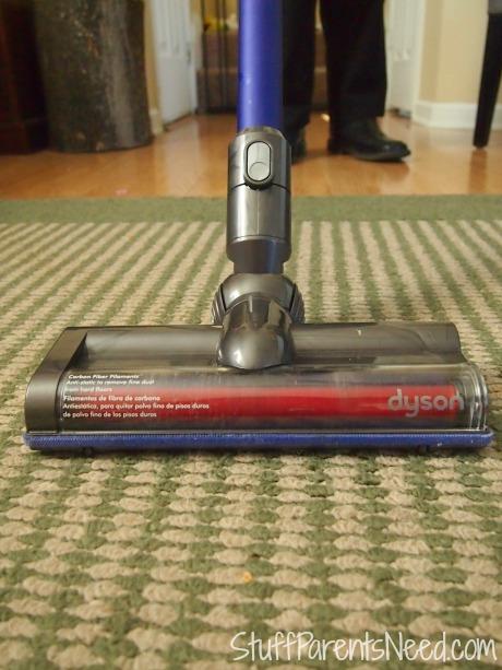 Dyson DC59 on carpet