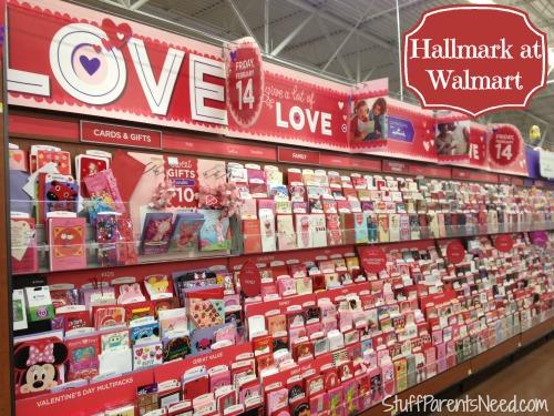Hallmark #valentinecards at Walmart 1