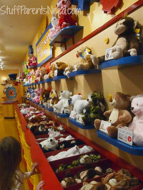 build a bear wall of animals