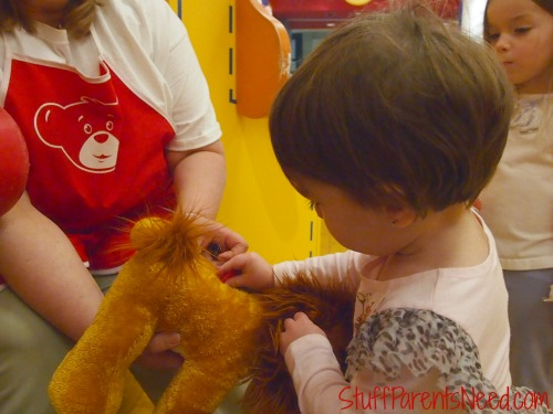 heart inside build a bear
