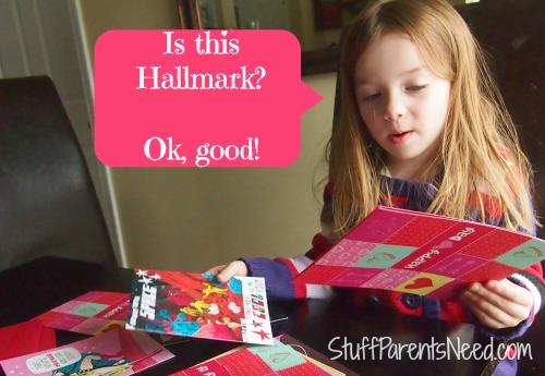 hallmark #valentinecards check for hallmark seal