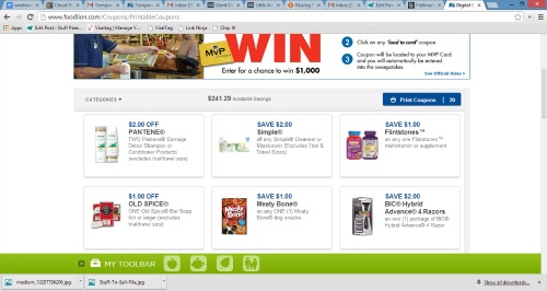 food lion printable coupons