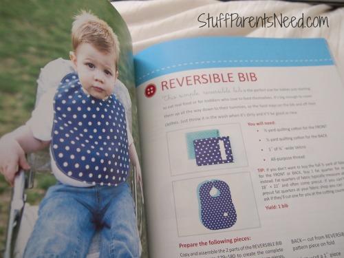 simple sewing baby bib
