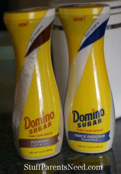 domino sugar product shot