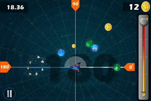 angle asteroids app