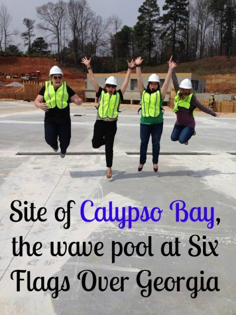 Calypso Bay wave pool at Six Flags Over Georgia