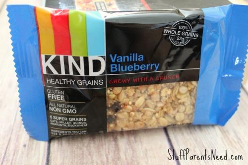 KIND vanilla blueberry