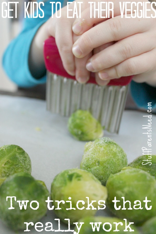 how to get kids to eat veggies