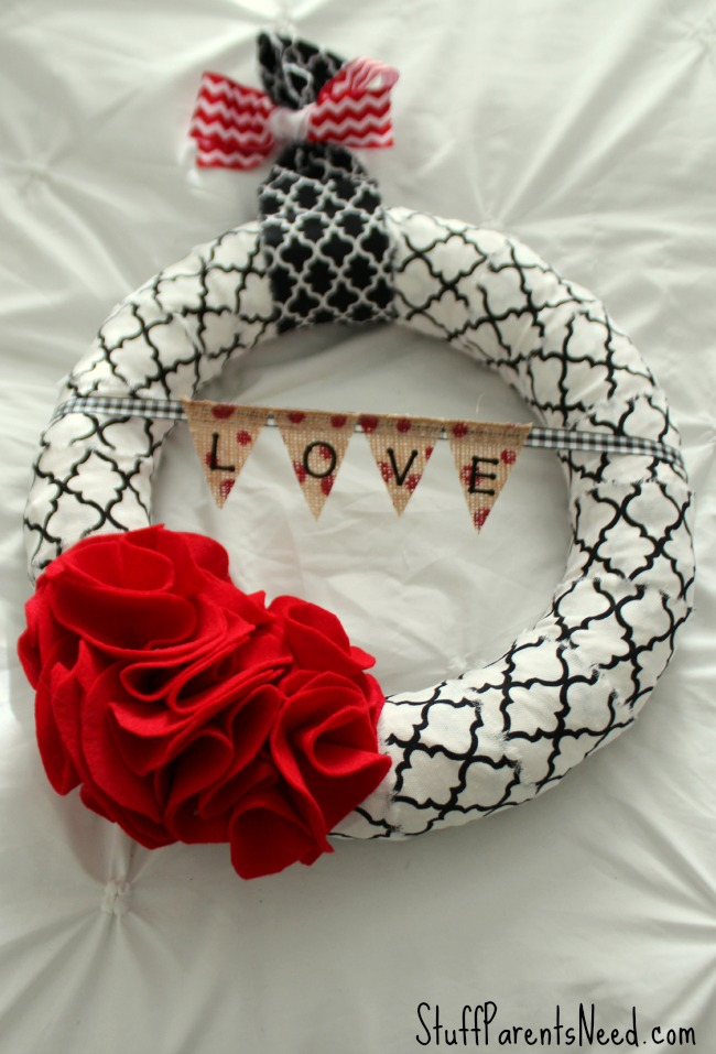 jane.com handmade valentine's day wreath