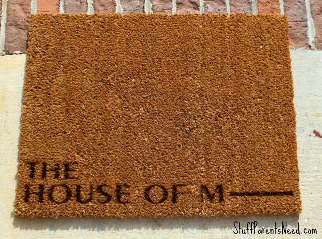 jane.com personalized door mat