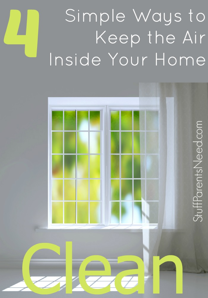 how to clean the air inside your home