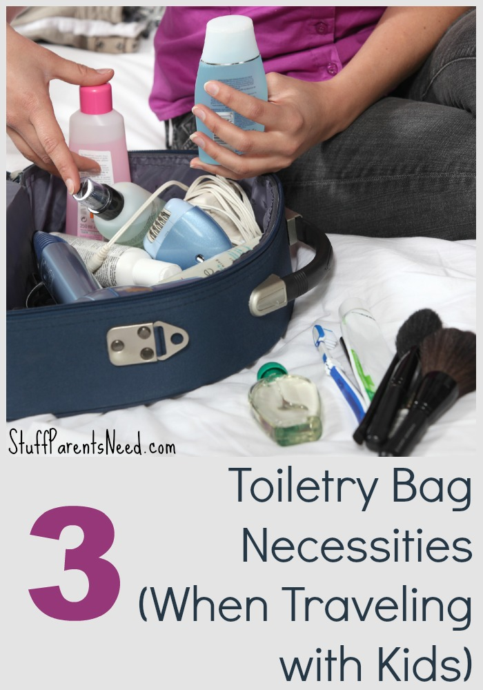 toiletry bag necessities