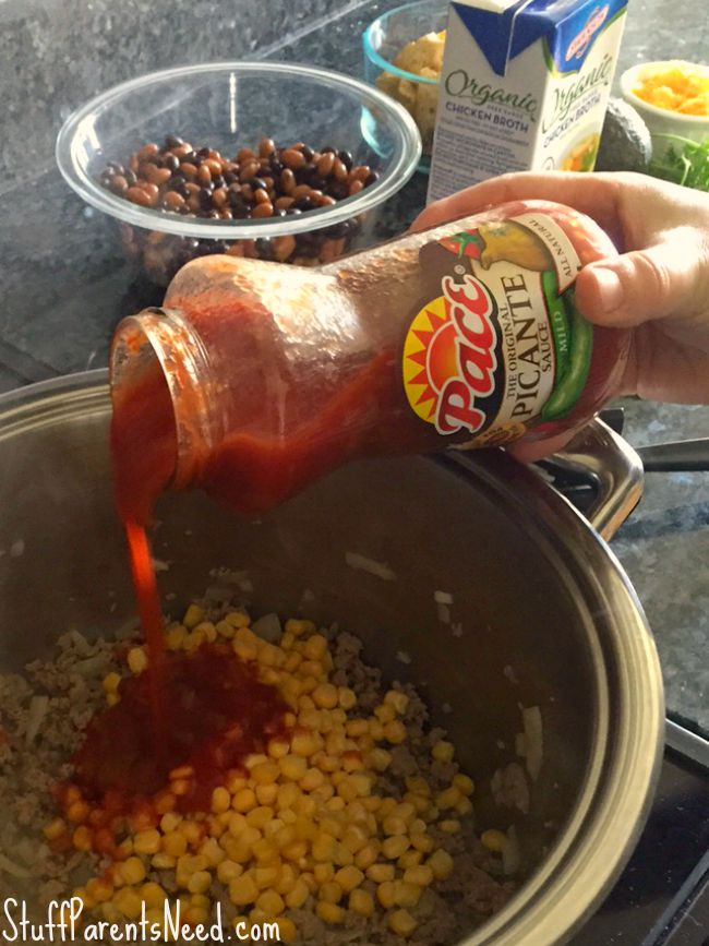 easy taco soup recipe PACE