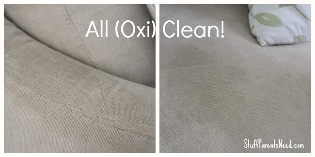 how to clean a couch with oxiclean after photos