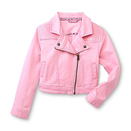 sears pink moto jacket