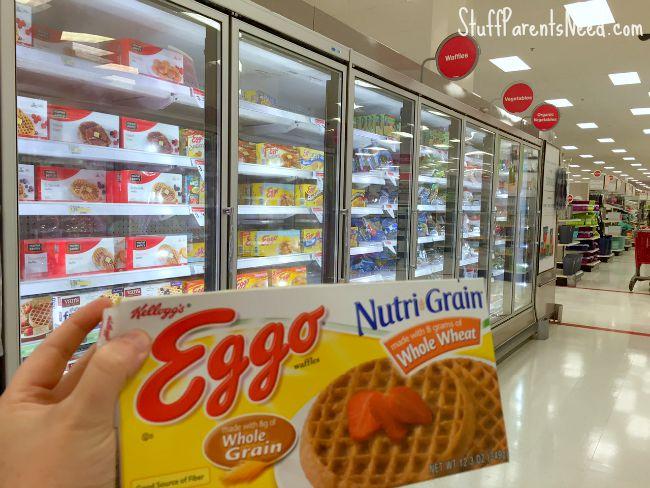 target eggo waffles