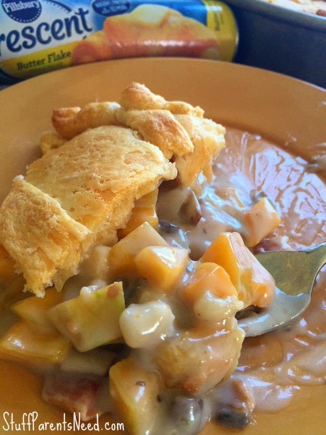 butternut squash pot pie 1