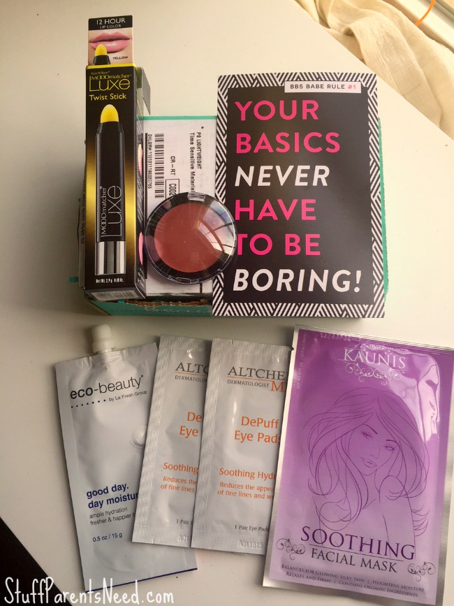 beauty box 5 November 2015 1