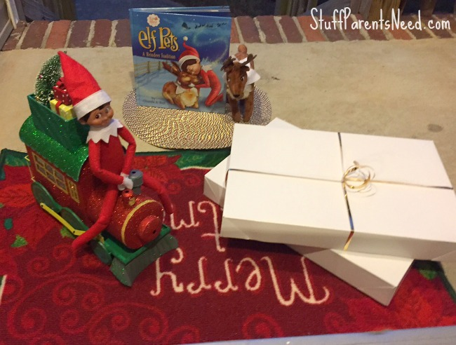 elf on the shelf arrival 2