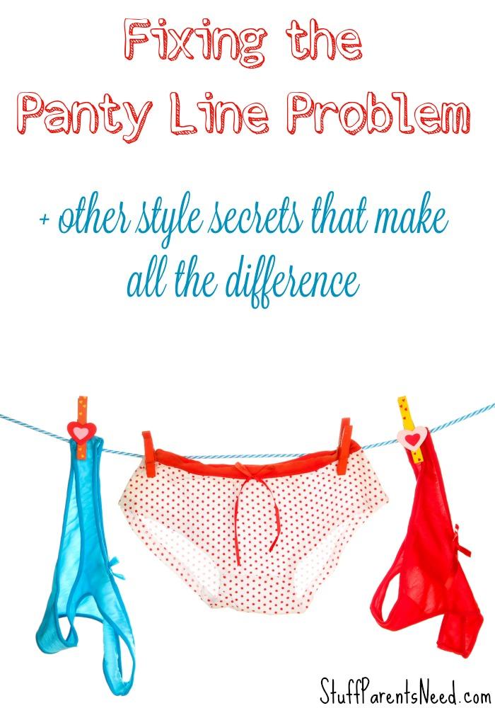 no panty line underwear