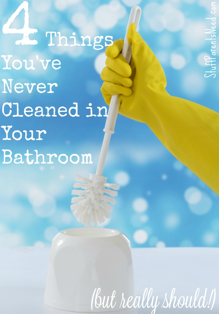 spring cleaning bathroom hero