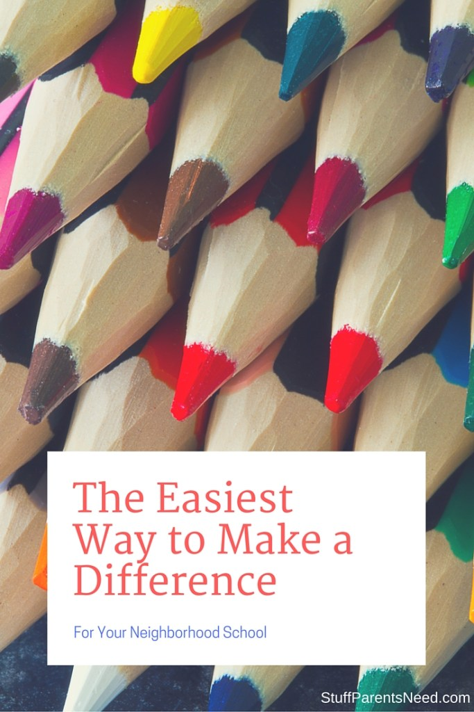 The Easiest Way to Make a Difference