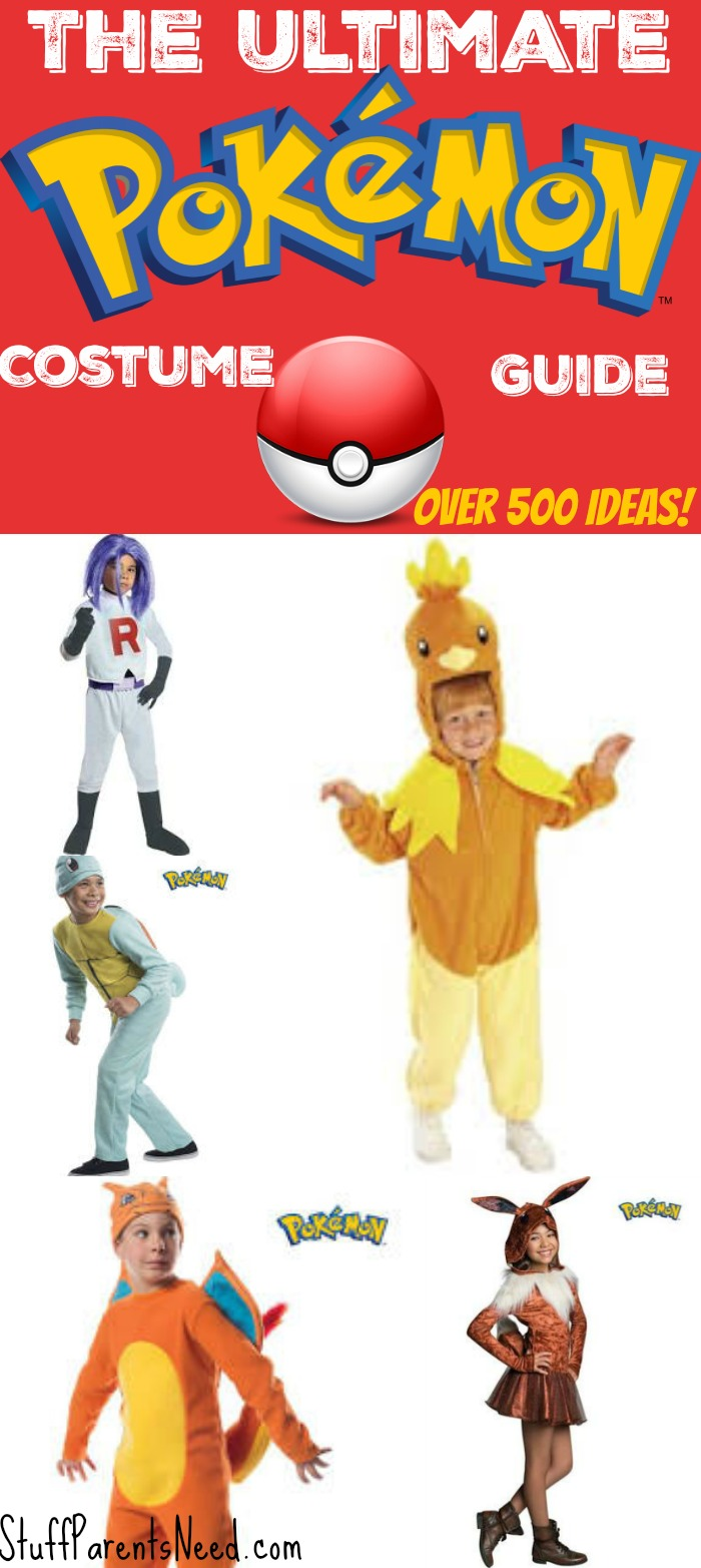 The Ultimate List of Pokemon Halloween Costumes