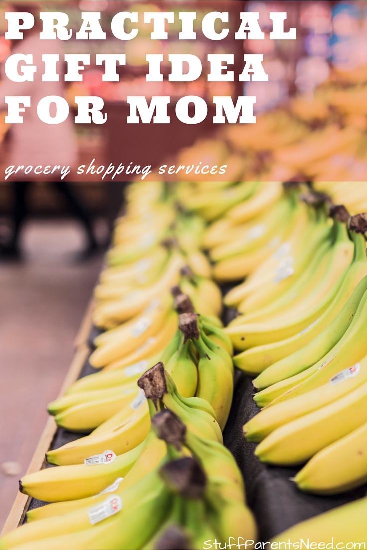 Winning Practical Christmas Gift Ideas for Mom: Grocery Shopping ...