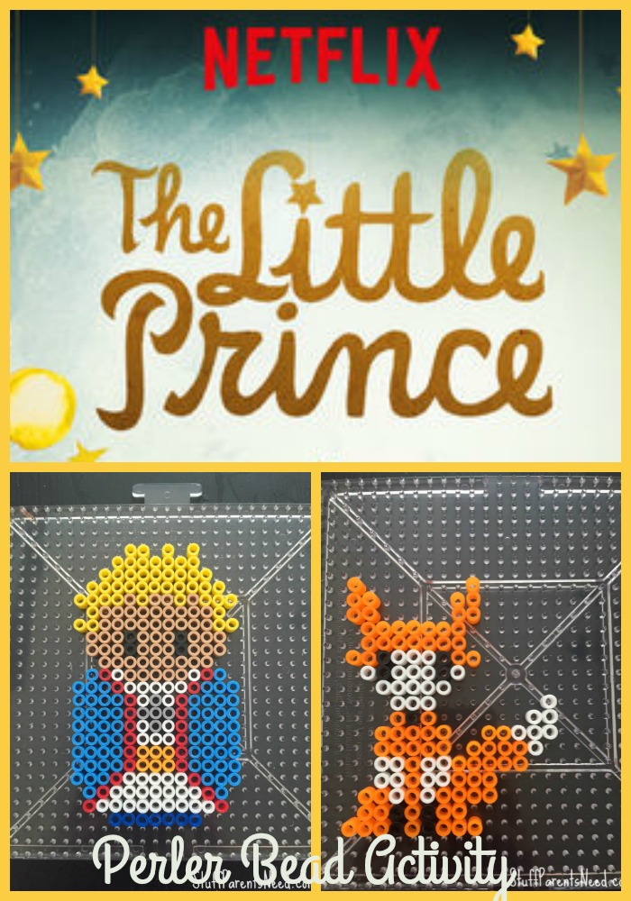 little prince perler bead activity