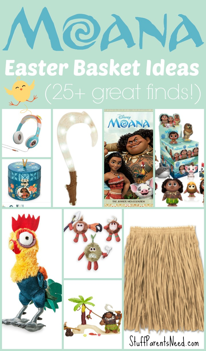 moana easter basket ideas