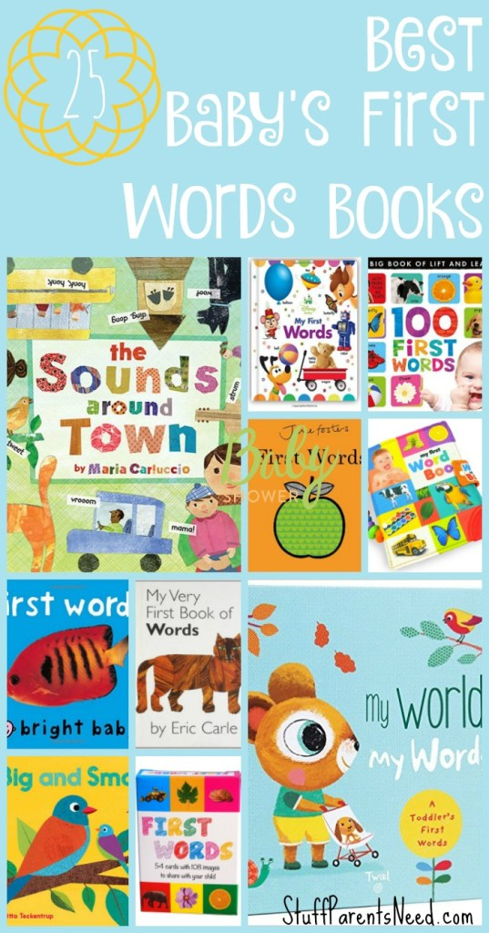 best baby's first words books