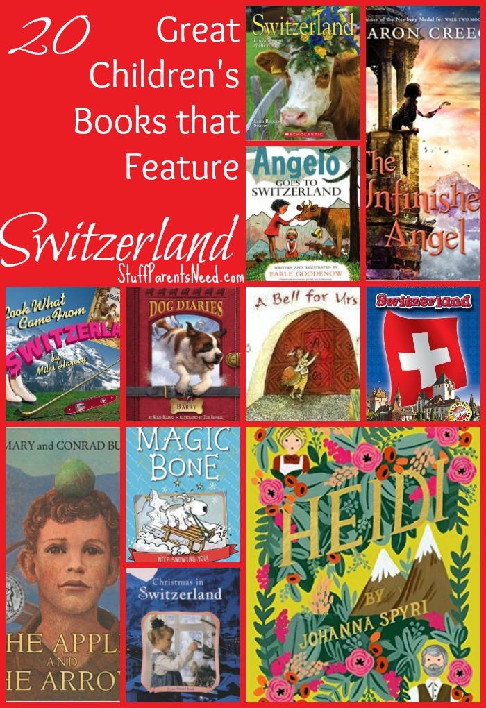 books about switzerland
