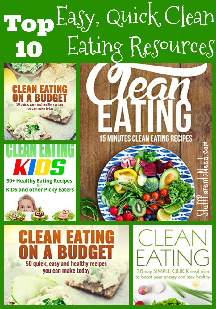 easy clean eating recipes collage