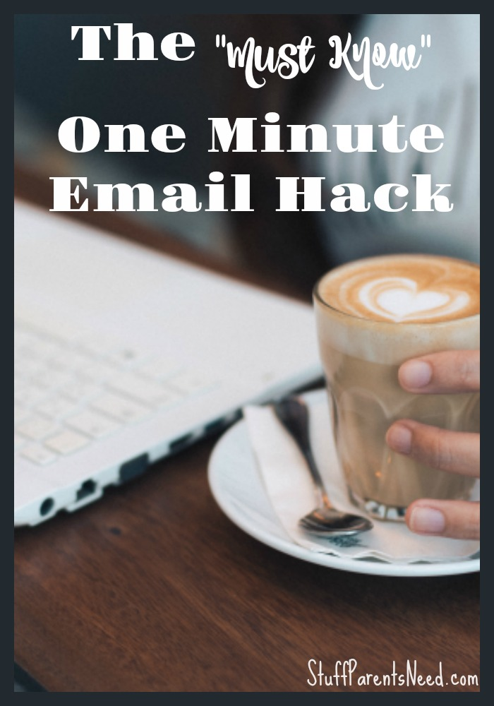email productivity tip