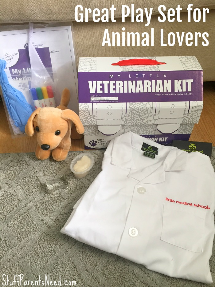 veterinarian play set for kids