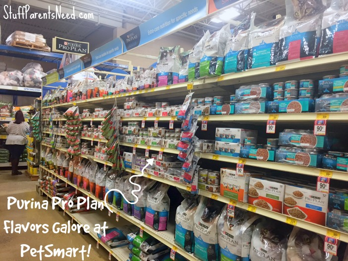 purina pro plan at PetSmart