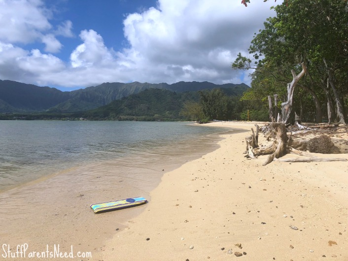 free version of the secret beach on Oahu