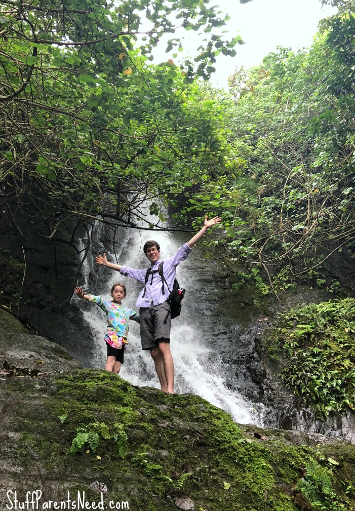 hiking trails for families Oahu