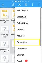 change properties of hosts file