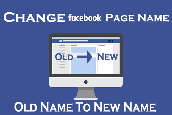 How To Change Facebook Page Name In 2019 (Business or Community)
