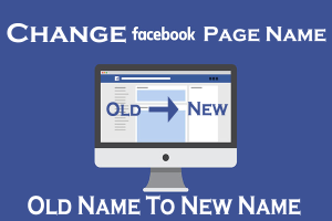facebook change page name quick