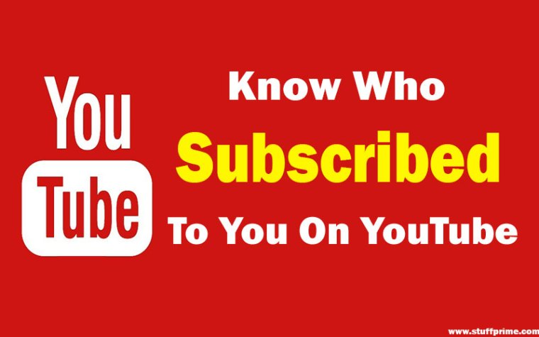 know who subscribed to you on youtube using creator studio