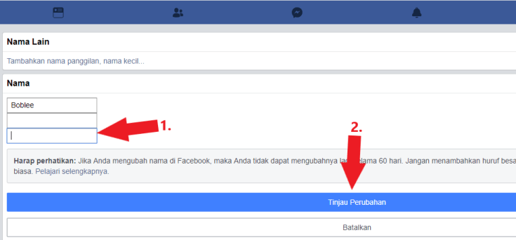 without proxy remove fb last name